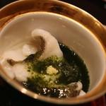 日本料理 徳 - アイナメのたま〆 塩味が足りなくてお魚の旨みを十分に楽しめず残念