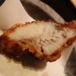 日本料理 徳 - ほっこり揚がってますね
