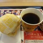 マクドナルド - チキンクリスプマフィンコンビ:200円