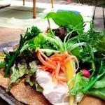 夢屋 - ハムと野菜のガレット