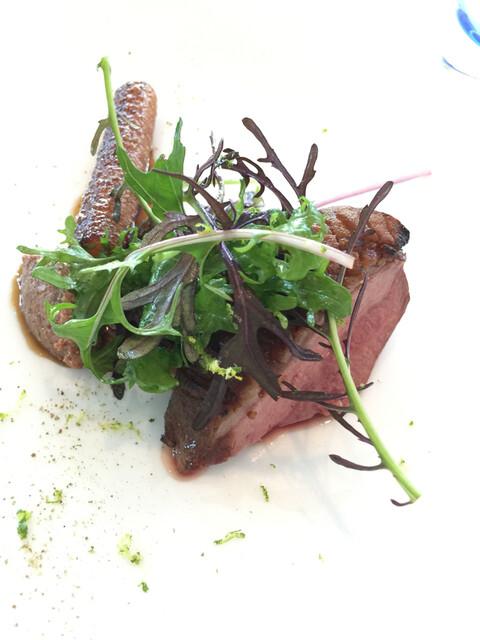 レストラン・モリエール - 鴨肉のロースト