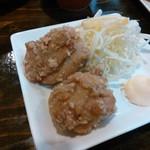 麺屋社中 - Dランチ(唐揚げ)