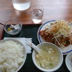 37341435 - ランチ 油淋鶏定食