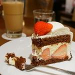 HARBS - ストロベリーチョコレートケーキ