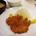 ポンチ軒 - ロース豚かつ ¥1,200