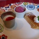 グリーンハウス - デザートの盛り合わせ