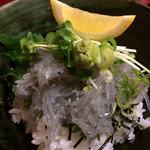 丸中 - ★★★ 生しらす丼