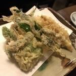 37346350 - 春野菜の天ぷら