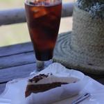 ラ・メール - ケーキセット(チョコ系ケーキ&アイスコーヒー)