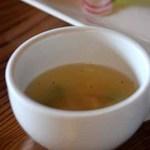 倉 - スープ(海老とグリーンピースの春スープ)