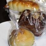 クルール - リンゴのパン、チョコブレッド?