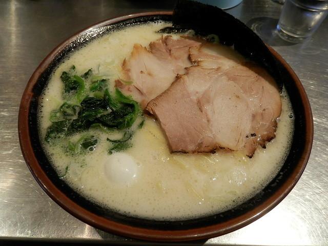 丸花 - H27.4 塩豚骨麺増し ¥750