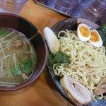 麺屋 桑田 - 茶山つけ麺+たまご\950