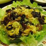 台湾飯店 - キクラゲ玉子