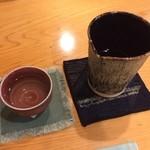 37351006 - 1杯目 喜久泉 大吟醸 斗壜取(1合2500円)