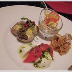 RISTORANTE Baci - 前菜4種