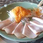 三田屋本店 - 料理写真:ロースハム オードブル 2013.08.31