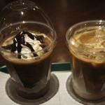 プラネタリウム スターリー カフェ - アイスカフェモカM、カフェラテM