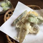 こなす - 野菜の天ぷら