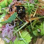 ラ テラス カフェ エ デセール - サラダランチのサラダ タイの春雨サラダ