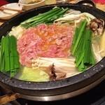 鍋屋 okamoto - 石鍋(出来上がり前)♪