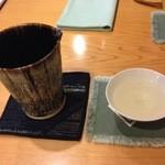 37359365 - 1杯目 喜久泉 大吟醸斗びん(青森) 1合 2500円(税・サービス料別)