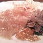 OTODAMA BAR - 三崎港といえば金目鯛!朝捕れた新鮮な魚をカルパッチョに☆
