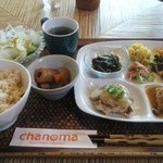 Asian Kitchen chanoma - 「chanomaランチ」1,134円