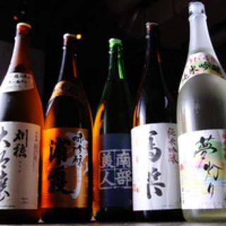【日本酒果実酒全部ok】1620円に+540円◆コースにも