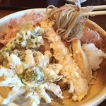 香露庵 - 春の天おろし蕎麦