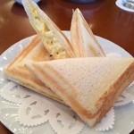 レストラン リビエラ - ホットサンドイッチ