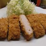 井泉 本店 - ヒレ定食のヒレカツ