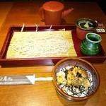 Torigen - ランチ そばと小丼セット(焼鳥)