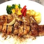 エグザ - 洋風豚ロース丼