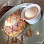 恵比寿楽園テーブル - キャラメルのパンケーキ