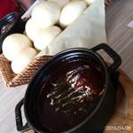 恵比寿楽園テーブル - ハンバーグのシチュー