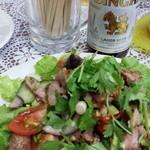 泰苑 - 牛肉のサラダ