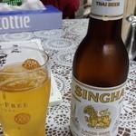 泰苑 - ビール