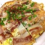 エグザ - [季節限定]チヂミ風豚バラ肉のキャベツ焼き