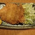 丸源 新店 - チーズ入りハムカツ 320円