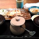 虎連坊 - 鶏天然塩網焼き膳
