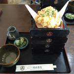 37373049 - 名物天せいろ 3段¥1,680(2段¥1,580)