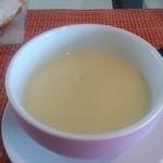 美食倶楽部 富高岩 - ポタージュスープも絶品!優しいお味です。