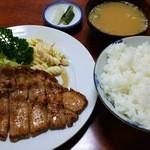 三好弥 - しょうが焼き定食(800円)