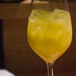 魚屋ひでぞう - すてきなシークワァーサー酒(ロック)