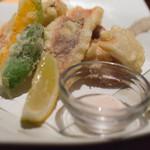 魚屋ひでぞう - 旬野菜の天ぷら盛