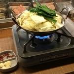 竹乃屋 - もつ鍋(醤油)990円(税別)