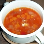 37378068 - 本日のスープ:チリビーンズ