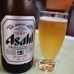 ラ・セーヌ - 瓶ビールはアサヒ