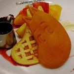 Muminhausukafe - モーニングムーミンワッフルケーキ 600円